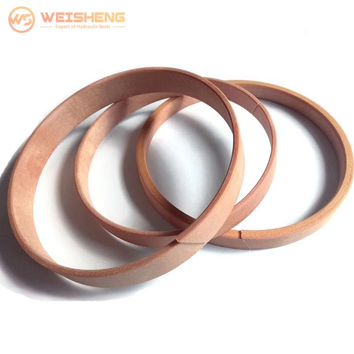 WR seal hydraulic cylinder seal phenolic wear rings