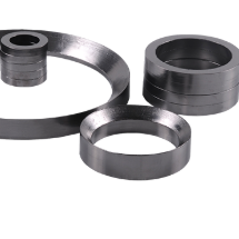 Flexible graphite slope type seal packing ring
