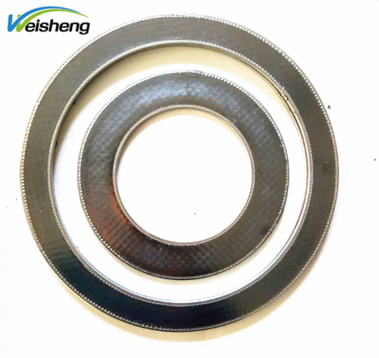 stainless steel edge High Performance Reinforced Graphite Gasket