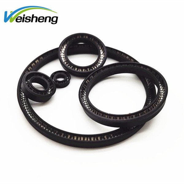 U TYPE Y TYPE Small PTFE Spring Energized Seals Low temperature resistance for LNG Dispensing Gun or Compressor